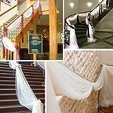 BITFLY-5M-x-135M-Sheer-Organza-Swag-DIY-Tela-de-la-boda-de-la-tapa-de-la-tabla-de-eventos-Decoracin-Partido-Escalera-arco-Valance-tabla-falda-30-colores-disponibles