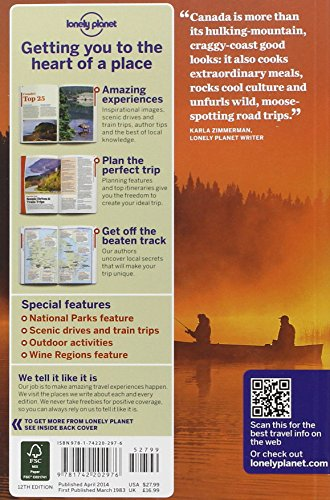 Canada 12 (inglés) (Country Regional Guides)