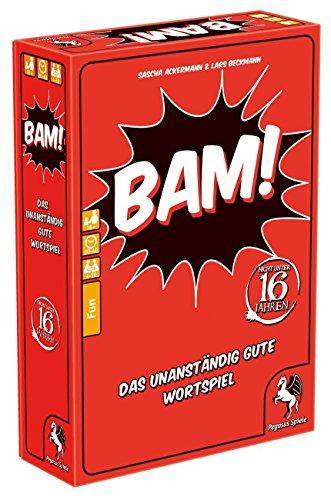 Pegasus Spiele 18300G - Bam, Das unanständig gute Wortspiel