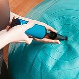 Gymnastik-Ball »Pluto« / Robuster Sitzball und Fitnessball / 75 cm / blau -