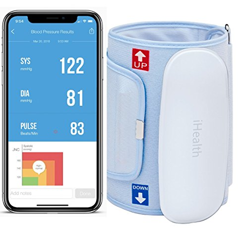 iHealth FEEL BP5 Wireless Blood Pressure Monitor and Travel Pouch