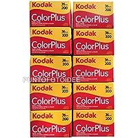10Kodak colorplus 200ASA Lot de 10pellicules Exposition de36