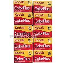 10Kodak Colorplus 200asa 36exp, 10unidades
