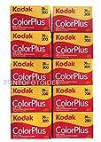 10 Rullini Kodak Color Plus 35mm 200/36 - Conf. da 10 pz. - Pellicola - Rullino - Fotografia - Kodak - amazon.it