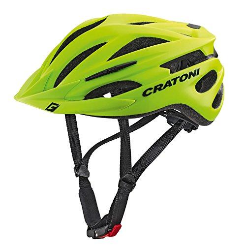 Cratoni Pacer Lime Matt (L-XL 58 - 62 cm) (Sie Wählen Rad-trikot)