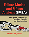 Failure Modes and Effects Analysis (FMEA): Description, When to Use, Procedure, Example, and Considerations