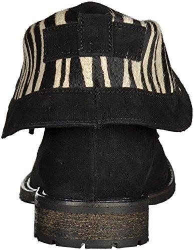 SPM 60926327 femmes Bottine noir/zebre