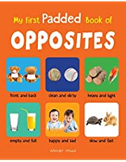 My First Padded Book Of Opposites Early Learning Padded Boa