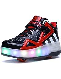 Runaway zapatos Los zapatos con ruedas Zapatos sola rueda zapatos con ruedas, rojo-con ruedas, EU 32