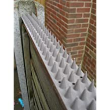Tira de púas para vallas y muros - Gris x30 Unidades