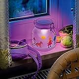 Esotec Solarleuchte Einmachglas Satin Glas, Lichtfarbe wählbar 102078 - 5