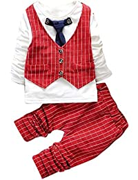 Ouneed® Garcon Enfant Mariage Costume Tailleur