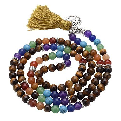 Considerate Yin & Yang Armband 2 Größen Edelstein Perlen
