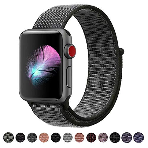 HILIMNY Für Apple Watch Armband 42MM, Ersatz für iwatch Series 3, Series 2, Series 1 (Dunk Olive, 42MM)