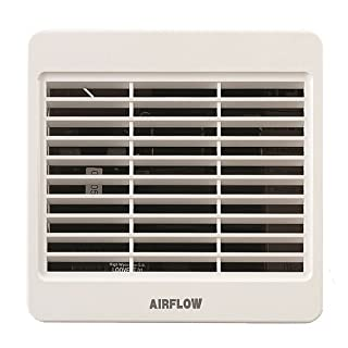 Airflow LOOVENT Wall Extractor Fan, 30 W, 230 V, White, 100 mm