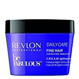 REVLON PROFESSIONAL BE FABULOUS Daily Care Masque Léger C.R.E.A.M pour Cheveux Fins, 200ml