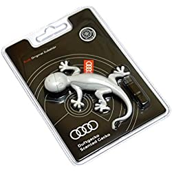 Original Audi Duftspender Duftgecko hellgrau 000087009A Orangen Duft