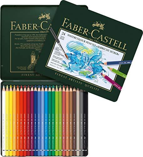 Faber-Castell Aquarellstifte ABLRECHT DÜRER, 24er Metalletui