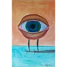 Impresión en metacrilato 60 x 90 cm: Eye with crow's feet de Diego Manuel Rodriguez