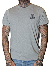 Franklin & Marshall Graue Kurze Ärmel t-Shirt