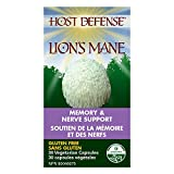 Host Defense - Lion's Mane Capsules, Memory & Nerve Support, 30 count