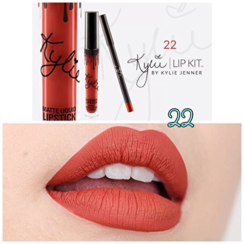 KYLIE JENNER COSMETICS Lip Kit in 22 Shade + Free lip brush by Sweetdanish by KYLIE JENNER