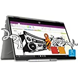 HP Pavilion x360 Intel Core i7 8th Gen 14-inch Touchscreen 2-in-1 FHD Thin and Light Laptop (8GB/16GB Optane/1TB HDD/Windows 10 Home/MS Office/4GB Graphics/Mineral Silver/1.59 kg), cd0055TX