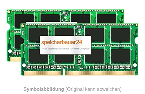 16GB Arbeitsspeicher (2X 8GB RAM Kit) - 204pin SO-DIMM DDR3 1866MHz - passend für Synology DiskStation-Series DS918+ DS718+ DS218+ DS418play - RAM-Upgrade -