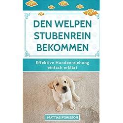 Den Welpen stubenrein bekommen: Dem Hund die Stubenreinheit antrainieren - so geleingt es! (Effektive Hundeerziehung - einfach erklärt! Band, Band 2)