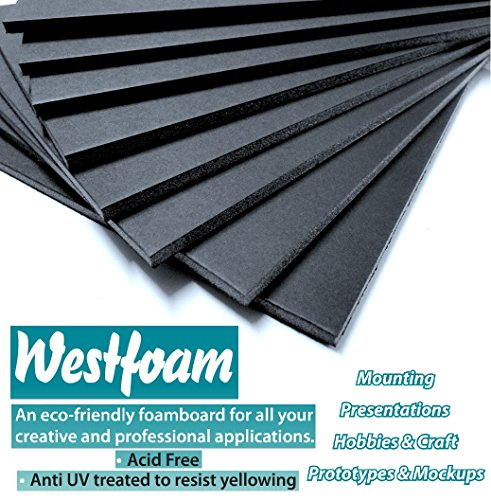 foam-board-a4-210mm-x-297mm-black-moutning-5mm-thick-foamex-foam-sign-display-model-pvc-sheet-foambo