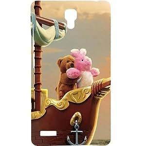 Casotec Funny Titanic Design Hard Back Case Cover For Xiaomi Redmi Note 4G