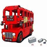 Modbrix Technik motorisierter Bus Doppeldecker LondonBus, 487 Technic Teile