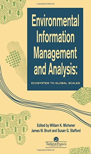 Environmental Information Management and Analysis: Ecosystem to Global Scales -