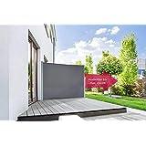 empasa Seitenmarkise Start Sichtschutz Sonnenschutz in verschiedenen Farben, Höhe 160 oder 180 cm, Länge bis max. 450 cm.