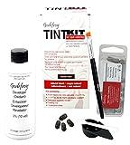 Godefroy TintKit for spot coloring, Augenbrauen,Bart- Färbeset für Profis, naturschwarz, 1er Pack (1 x 20 Stück)