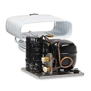 Dometic CU-55+VD-07, Système de réfrigération complet avec évaporateur en O pour une capacité maximale de 130 L
