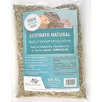Naturonia Sustrato Natural de Vermiculita para Reptiles, 6 litros