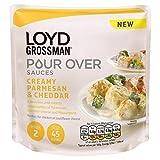 Loyd Grossman 170g Salsa De Queso (Paquete de 6)