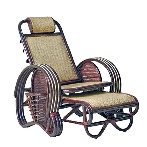 Natural bambú - rota mimbre de silla de salón / sillone reclinable / chaise longue / silla plegable / sillone / reclinado de silla / silla de mentira / laicos la silla / mentira de silla / asiento / silla de calesa