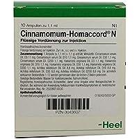 Cinnamomum Homaccord N Ampullen 10 stk preisvergleich bei billige-tabletten.eu