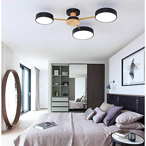XXQ Nordic Schlafzimmer Deckenleuchte, Moderne minimalistische Wohnzimmer Esszimmer Macaron Raumbeleuchtung -