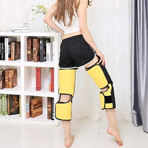 LXYQH Elektrische Heizung Kniekissen Moxibustion Leg Massage Geräte Warm Cold Knee Joint Physiotherapie Joint Men and Women,Metallic,65.5x53x54cm