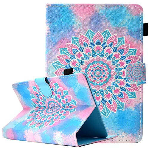 MYTHOLLOGY Universal 9-10 inch Tablet Case, Folio Cover with Stand and Card  Pocket Case for YELLYOUTH 10, Wecool 10 1, NeuTab N11 Plus - A08