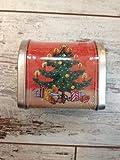 Adventspost für dich! - Bald ist Weihnachten: 24 Briefmarken-Sticker zum Dekorieren im Blechbriefkasten