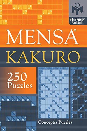 Mensa Kakuro (Official Mensa Puzzle Book) por Conceptis Puzzles