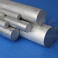 Aluminium Rundmaterial Ø 12 mm (Länge = 1000 mm) AlMgSi | Rundstange Ø 12x1000 mm | Aluminiumstange | Rundstab