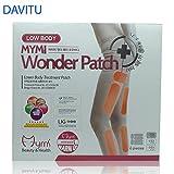 DAVITU 36pcs in 1box Wonder patch inferiore del corpo trattamento snellente gamba slim patch patch crema intonaco perdere la perdita di peso