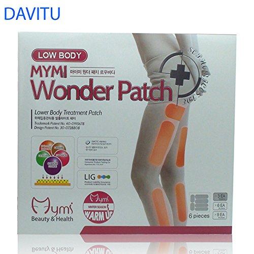 DAVITU Stricknadel in 1Box Wonder Patch Unten Körper Behandlung Den Slim Patch Bein Patch Creme Pflaster Verlieren Gewicht Verlust
