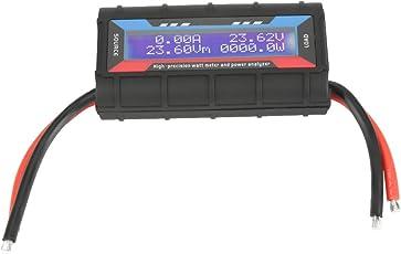 Digital Wattmeter, 4,8 V ~ 60 V 150A Hohe Präzision Leistungsmesser Power Analyzer mit LCD Hintergrundbeleuchtung