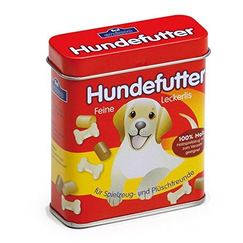 Erzi Hundefutter in der Dose, Spielzeug-Hundefutter, Kaufladenzubehör -
